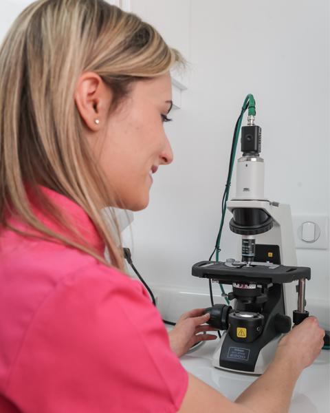 Microscope pour la parodontologie