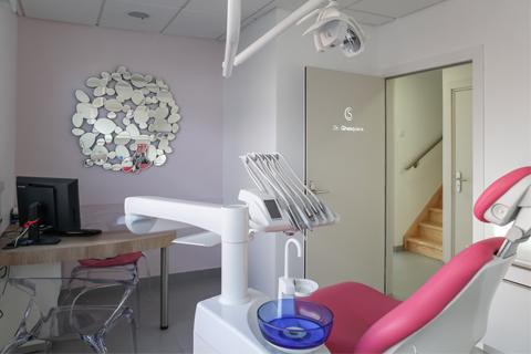 Salle de soins du cabinet dentaire